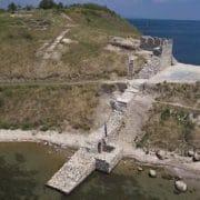 крепостна стена черноморец